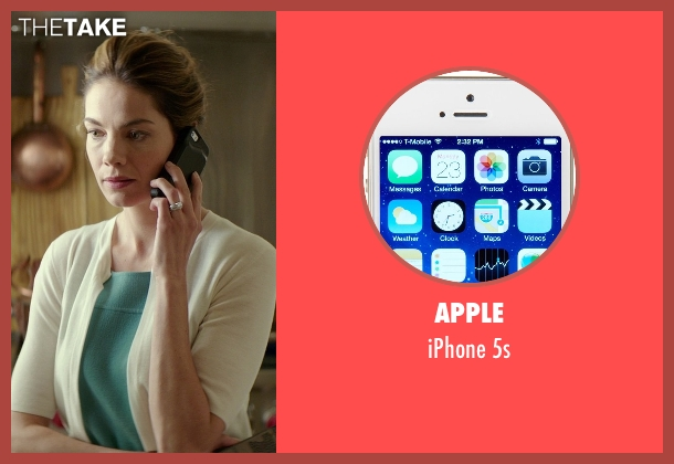 Apple 5s from The Best of Me seen with Michelle Monaghan (Amanda Collier)