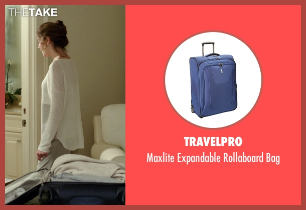 Travelpro blue bag from The Best of Me seen with Michelle Monaghan (Amanda Collier)