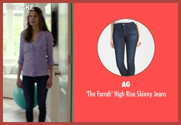 AG blue jeans from The Best of Me seen with Michelle Monaghan (Amanda Collier)