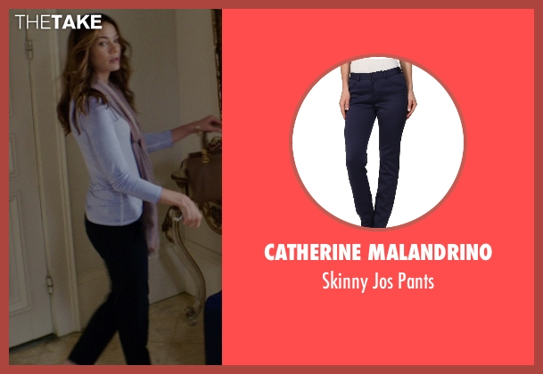 Catherine Malandrino blue pants from The Best of Me seen with Michelle Monaghan (Amanda Collier)