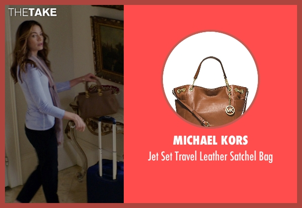 Michael Kors brown bag from The Best of Me seen with Michelle Monaghan (Amanda Collier)