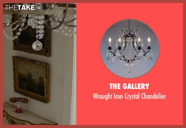 The Gallery chandelier from The Best of Me seen with Michelle Monaghan (Amanda Collier)