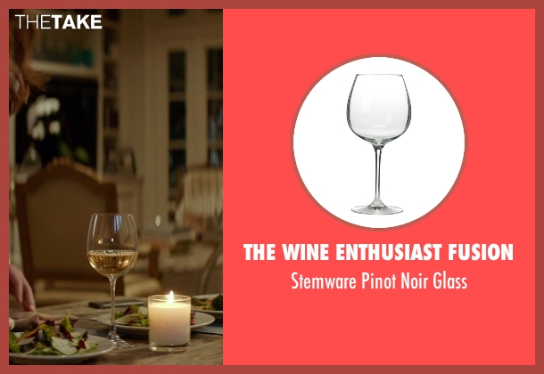 The Wine Enthusiast Fusion glass from The Best of Me seen with Michelle Monaghan (Amanda Collier)