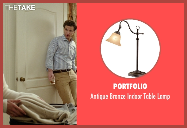 Portfolio lamp from The Best of Me seen with Michelle Monaghan (Amanda Collier)