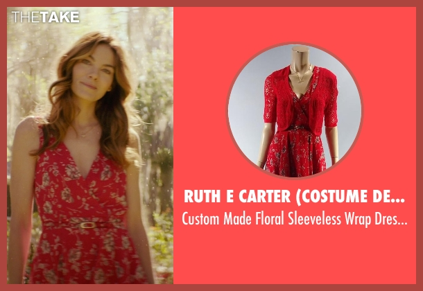 Ruth E Carter (Costume Designer) red dress from The Best of Me seen with Michelle Monaghan (Amanda Collier)