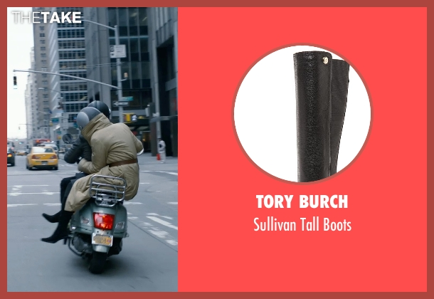 Tory Burch black boots from New Year's Eve seen with Michelle Pfeiffer (Ingrid )