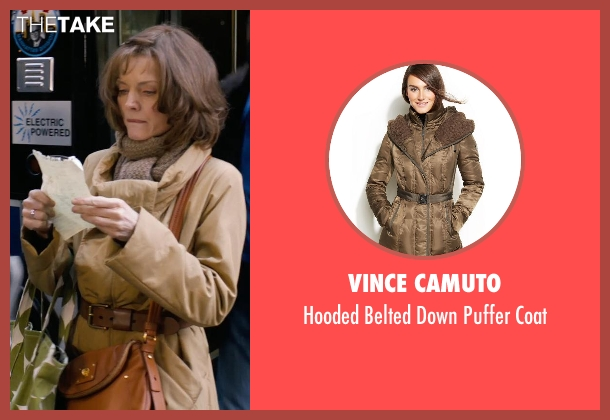 Vince Camuto brown coat from New Year's Eve seen with Michelle Pfeiffer (Ingrid )