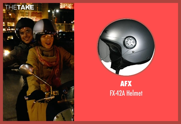 AFX gray helmet from New Year's Eve seen with Michelle Pfeiffer (Ingrid )