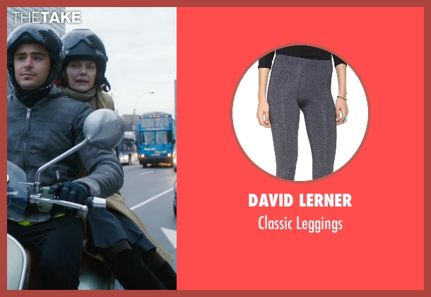 David Lerner gray leggings from New Year's Eve seen with Michelle Pfeiffer (Ingrid )