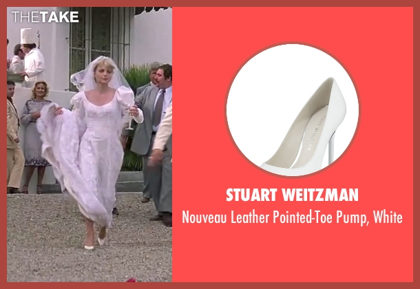 Stuart Weitzman white white from Scarface seen with Michelle Pfeiffer (Elvira Hancock)