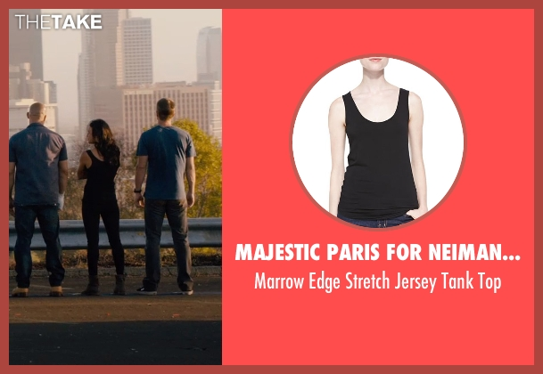 Majestic Paris for Neiman Marcus black top from Furious 7 seen with Michelle Rodriguez (Letty Ortiz)