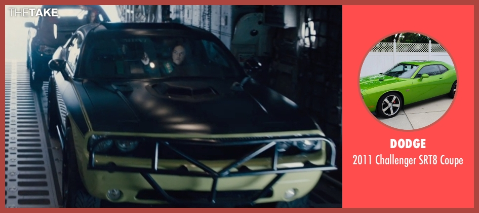 Dodge coupe from Furious 7 seen with Michelle Rodriguez (Letty Ortiz)