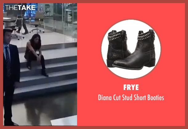 Frye black booties from The Fate of the Furious seen with Michelle Rodriguez (Letty Ortiz)