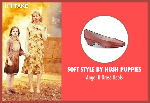 Soft Style by Hush Puppies red heels from Shutter Island seen with Michelle Williams (Dolores)