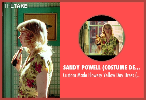 Sandy Powell (Costume Designer) yellow dress from Shutter Island seen with Michelle Williams (Dolores)