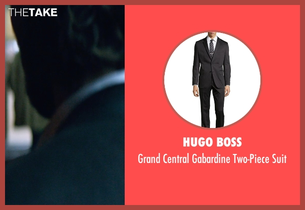 Hugo Boss black suit from The Age of Adaline seen with Michiel Huisman (Ellis)