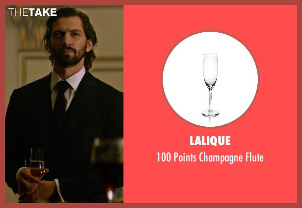 Lalique flute from The Age of Adaline seen with Michiel Huisman (Ellis)