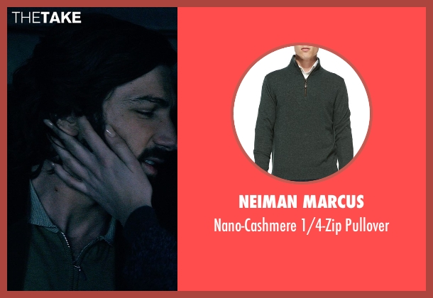 Neiman Marcus	 green pullover from The Age of Adaline seen with Michiel Huisman (Ellis)