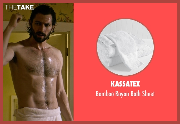 Kassatex sheet from The Age of Adaline seen with Michiel Huisman (Ellis)