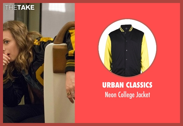 Urban Classics black jacket from Love seen with Mickey Dobbs (Gillian Jacobs)