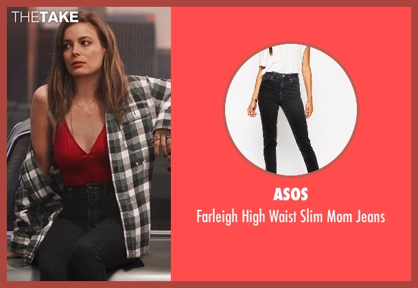 Asos black jeans from Love seen with Mickey Dobbs (Gillian Jacobs)