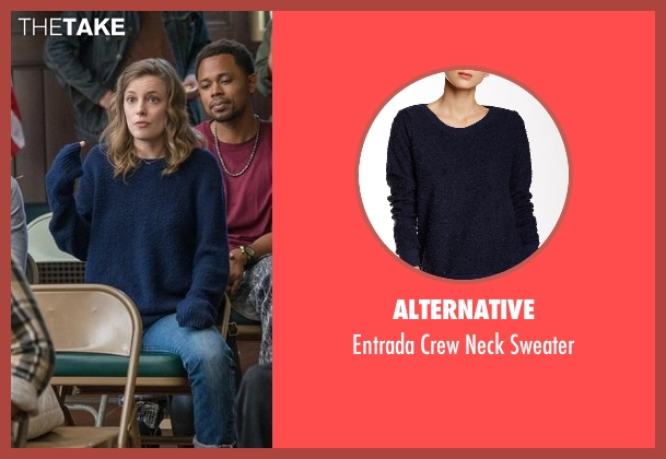 Alternative blue sweater from Love seen with Mickey Dobbs (Gillian Jacobs)