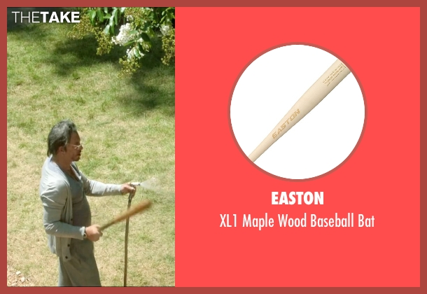 Easton bat from Ashby seen with Mickey Rourke (Ashby Holt)