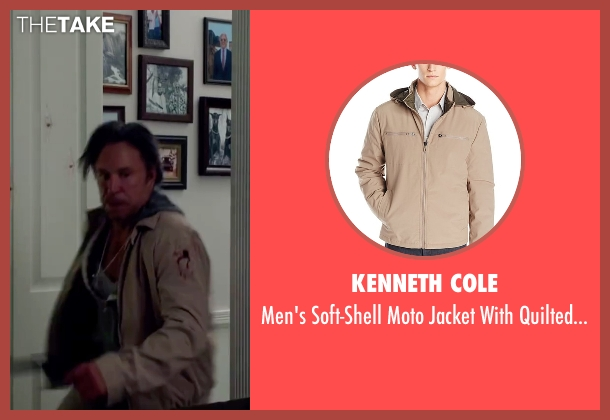 Kenneth Cole beige lining from Ashby seen with Mickey Rourke (Ashby Holt)