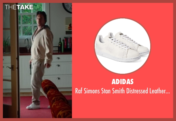 Adidas white sneakers from Ashby seen with Mickey Rourke (Ashby Holt)