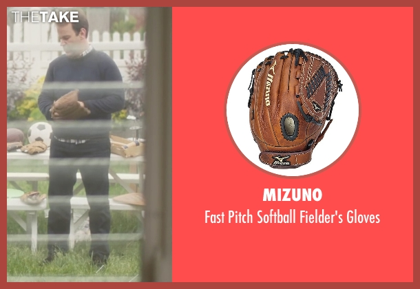 Mizuno gloves from Trainwreck seen with Mike Birbiglia (Tom)