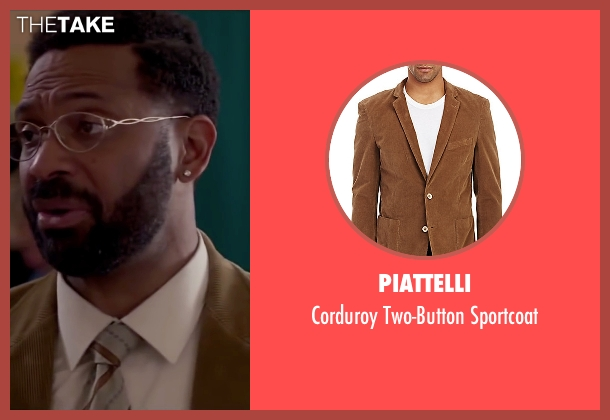 Piattelli brown sportcoat from Fifty Shades of Black seen with Mike Epps (Unknown Character)