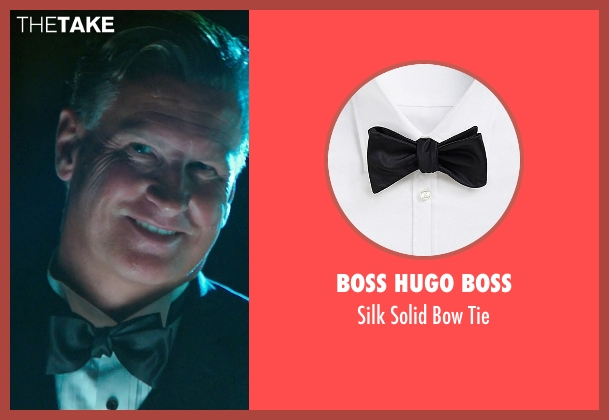 Boss Hugo Boss black tie from The Purge: Anarchy seen with Mike Jerome Putnam (Mr. Lockart)
