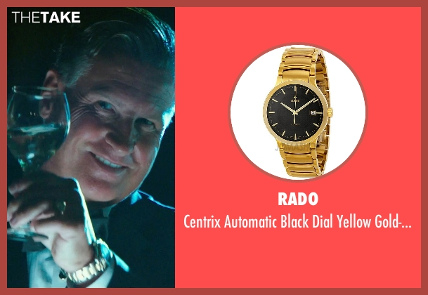 Rado gold watch from The Purge: Anarchy seen with Mike Jerome Putnam (Mr. Lockart)