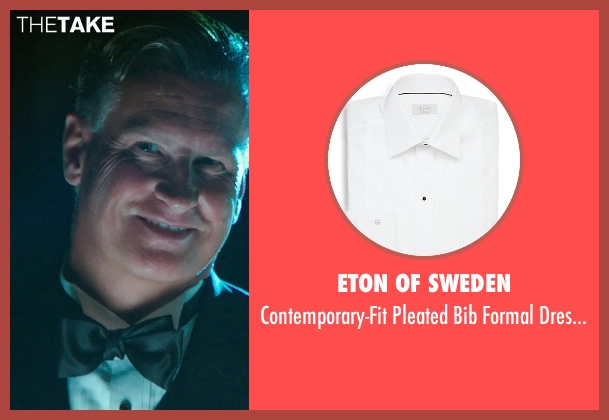 Eton of Sweden white shirt from The Purge: Anarchy seen with Mike Jerome Putnam (Mr. Lockart)