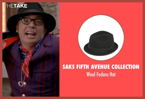 Saks Fifth Avenue Collection black hat from Austin Powers in Goldmember seen with Mike Myers (Austin Powers)