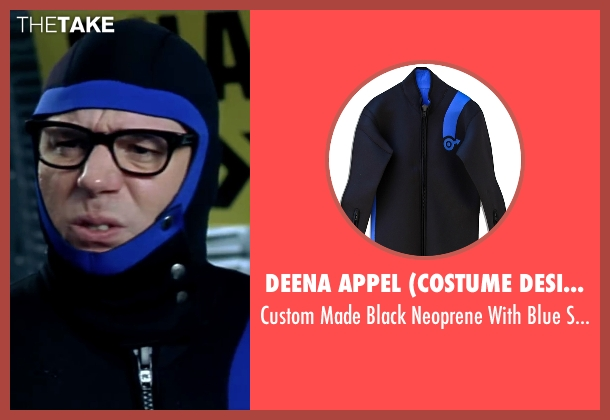 Deena Appel (Costume Designer) black wetsuit from Austin Powers in Goldmember seen with Mike Myers (Austin Powers)