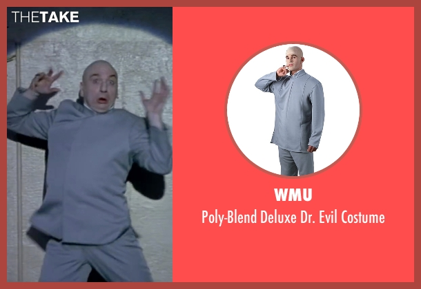 WMU costume from Austin Powers in Goldmember seen with Mike Myers (Dr. Evil)
