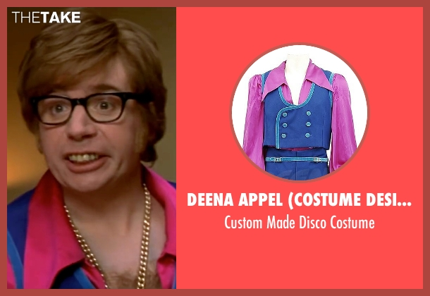 Deena Appel (Costume Designer) costume from Austin Powers in Goldmember seen with Mike Myers (Austin Powers)