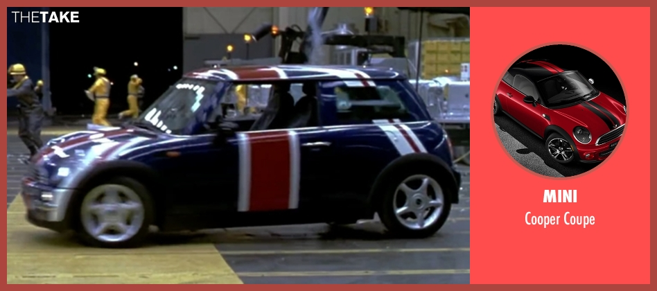 Mini coupe from Austin Powers in Goldmember seen with Mike Myers (Austin Powers)
