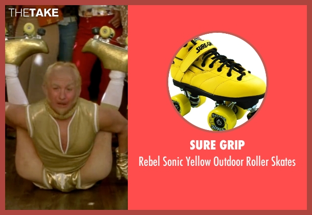 Sure Grip skates from Austin Powers in Goldmember seen with Mike Myers (Goldmember)