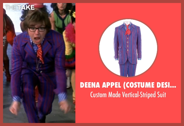 Deena Appel (Costume Designer) suit from Austin Powers in Goldmember seen with Mike Myers (Austin Powers)