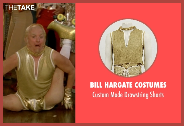 Bill Hargate Costumes yellow shorts from Austin Powers in Goldmember seen with Mike Myers (Goldmember)