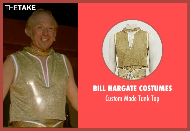 Bill Hargate Costumes yellow top from Austin Powers in Goldmember seen with Mike Myers (Goldmember)
