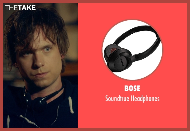 Bose black headphones from Suits seen with Mike Ross (Patrick J. Adams)
