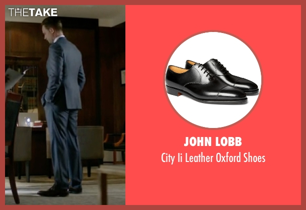 John Lobb black shoes from Suits seen with Mike Ross (Patrick J. Adams)