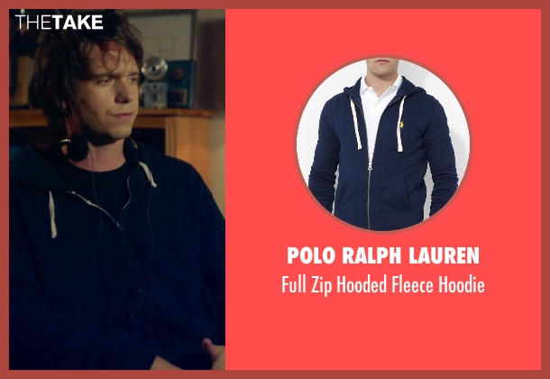Polo Ralph Lauren blue hoodie from Suits seen with Mike Ross (Patrick J. Adams)
