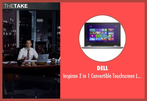 Dell laptop from Suits seen with Mike Ross (Patrick J. Adams)
