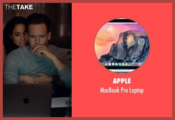 Apple laptop from Suits seen with Mike Ross (Patrick J. Adams)