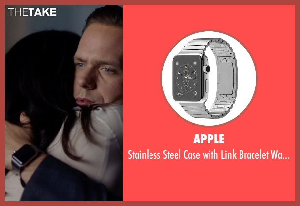 Apple silver watch from Suits seen with Mike Ross (Patrick J. Adams)