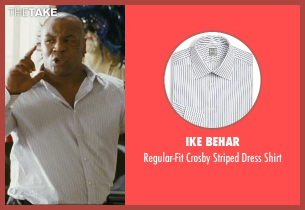 Ike Behar white shirt from The Hangover seen with Mike Tyson